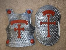 Dress Up Chest Protector And Shield Armor Faith Righteousness Kids Bible School