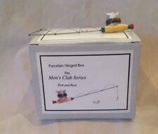 Trinket Box Fishing Rod and Reel PHB New in Box
