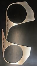 TRANSIT CUSTOM DASH TRIMS NEW SHAPE M SPORT LOGO STAINLESS STEEL COMES AS A PAIR