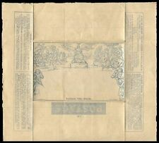 """GREAT BRITAIN U4 - Mulready Illustrated Letter Sheet """"Two Pence"""" (pa12041) $375"""