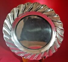 Metal Decor Mariposa Platter Tray Plate Charger Table Serving Wedding Bride New