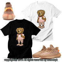 CUSTOM T SHIRT MATCHING STYLE OF adidas Yeezy Boost 350 V2 Clay AD-Y-4-4