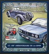 NIGER 2016 100th ANNIVERSARY OF THE BMW SOUVENIR SHEET  MINT NEVER  HINGED