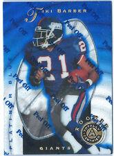 1997 Pinnacle Totally Certified #129 Tiki Barber RC /2499 Giants