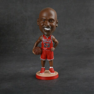 Michael Jordan 23 Chicago Bulls Bobbleheads Figure The Last Dance Authentic