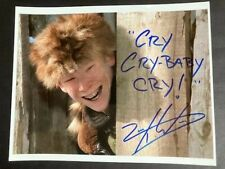 Zack Ward - Signed 8X10 Color Glossy Photo - A Christmas Story - Vg Condition!