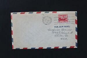 US 1956 Cover operation deep freeze  cancel Little America, Antarctic U.S.N