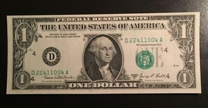 $1 1969D FRN Misaligned Print ERROR on Obverse High Grade CU Nice Crisp UNC
