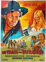 Plakat Kino Western Un Train Für Durango - 120 X 160 CM