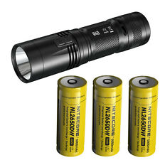 Nitecore R40 Rechargeable Flashlight -1000Lm w/Charging Dock & 3x Batteries