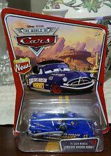 Disney Pixar Cars World of Cars Pit Crew Member Fabulous Hudson Hornet Rare