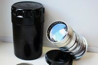 RARE CARL ZEISS JENA SONNAR P 135 mm Rangefinder lens for Contax I, II, III EXC