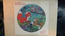 Disneyland Record Picture Disc Walt Disney Story of THE FOX & THE HOUND LP 1981