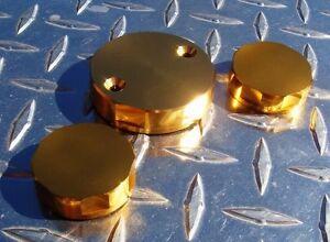 Ducati 748 851 916 996 848 1098 1198 S4 S4R S4RS M900 M1100 GOLD Reservoir Caps