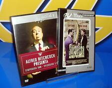 Dos DVD ALFRED HITCHCOCK-Sospecha y Afred Hitccock presenta 1 al 4