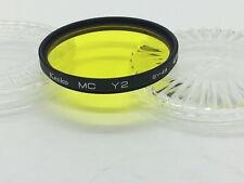 Kenko MC-Y2 Yellow SY-48 49mm Lens Protector Filter from JAPAN #ji113