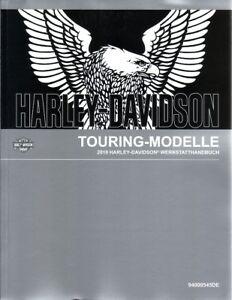 HARLEY Werkstatthandbuch 2019 Touring FLHXS Street Glide Special DEUTSCH Buch