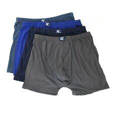 4pcs Men Boxers Loose Shorts Knickers Middle Aged Underpants Underwear Random