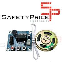 ISD1820 Modulo grabador y reproductor de voz con altavoz 3,3v Arduino