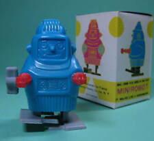 Original Vent Up automate ROBOT made in Hong Kong Vert/Bleu + neuf dans sa boîte en boîte ***