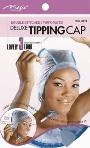 MAGIC HAIR HIGHLIGHTING TINTING FROSTING & TIPPING CAP WITH NEEDLE,  4716