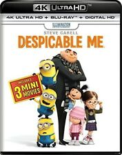 Despicable Me [New 4K UHD Blu-ray] With Blu-Ray, UV/HD Digital Copy, 2 Pack, 4