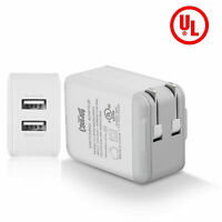 Universal 5V 2A USB Fast Charger Wall Travel Power Adapter US Plug For Cellphone