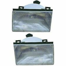 Headlight Set For 92-94 Ford Tempo Mercury Topaz Left & Right Side w/ bulb