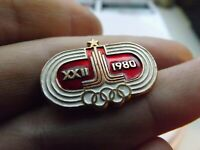 Vintage Soviet Pin Badge Olympics Moscow 1980 Olympic Games,USSR