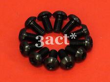 12 pcs Black M5 x 10mm Titanium/Ti Bolt - Hayes, Avid, Shimano Disc Brake Rotor