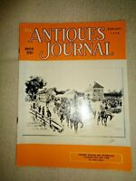 Antiques Journal 1956 Farmers Museum Cooperstown NY Oriental Rugs Buttons Tiles