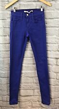 Joe's Jeans Women's The Skinny Periwinkle Blue Colored Jeans Size 24x32