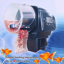 Adjustable Aquarium Automatic LCD Food Feeder Feeding Fish Timer For Fish Tank