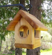 Cute decorative Small hanging Hummingbird nesting house, cedar wood, TBNUP # 3