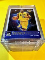 Kobe Bryant HOT DONRUSS OPTIC RETRO SERIES SPECIAL INSERT LAKERS CARD #23 - Mint