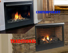 "Majestic 33"" Patriot 33CFDVN Direct Vent Gas Fireplace Traditonal/Modern NG/LP"
