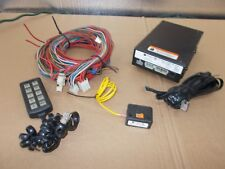 Federal Signal Police Light Siren Controller Model 650001 With Harness & Remote