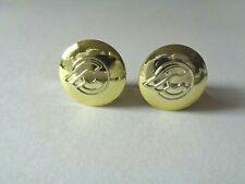 *NOS Vintage 1980s CINELLI Flying 'C' logo handlebar bar end plugs - (Gold)*