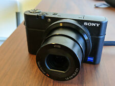 Sony Cybershot DSC-RX100 20.2MP Kit with 2 batteries, memory card, and case