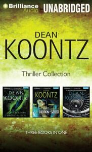 Dean Koontz THRILLER COLLECTION Unabridged 11 CDs 12 Hours *NEW* Fast Shipping!
