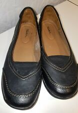 7bbb497aa1c9 Thom Mcan Womens Flats Size 7.5 m Black Leather Slip On Loafers