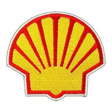 Shell Motorsport Oil Fuel Racing Car F1 Embroidered Iron On Patch Applique Biker