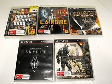 Skyrim-Grand Theft-Bulletstorm-Crysis 2-LA Noire 5 Great Games For PlayStation 3