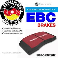 EBC Blackstuff Bremsbeläge DP1287 VORNE Smart Fortwo Cabrio 451 1.0 Turbo Brabus