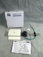 Elco Track Lighting Floating Canopy & Feed Point EP809 White NEW