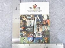 FINAL FANTASY VIII 8 Memorial Album Guide Art Material Scenario Book Condition C
