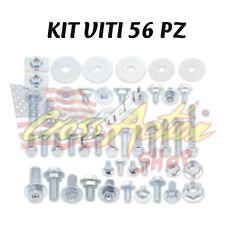 BOLT KIT COMPLETO VITI VITERIA 56 PEZZI HONDA CRF 250 2009 2010 PLASTICHE ECC...