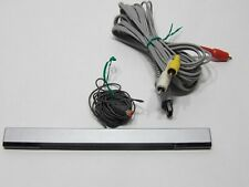 Wii accessories: sensor bar and RVL-009 RCA AV Cable