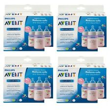 Philips Avent Bottle BPA Free, 3 Wide Neck Bottles, 9 Oz Colors Vary (Pack of 4)