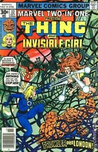 Marvel Two-in-One #32 FN/VF 7.0 1977 Stock Image